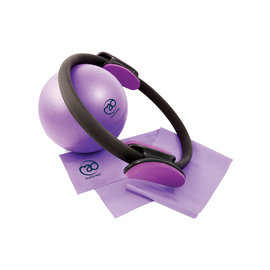 FITNESS MAD Fitness Mad Pilates Set Ring 31cm Soft Ball 23cm Weerstandsband medium 120cm SALE