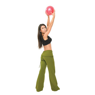 FITNESS MAD Fitness Mad Exer-Soft Pilates Coach Balance Ball 12 inch 30 cm Grey Gymnastics