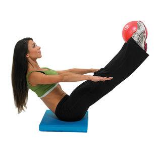 FITNESS MAD Fitness Mad Exer-Soft Pilates Coach Balance Ball 9 inch 23cm Red Gymnastics