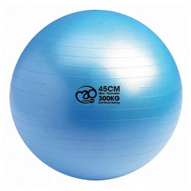 FITNESS MAD Fitness Mad Swiss Gym Ball 45cm 300Kg Anti-burst Blue