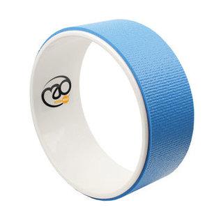 FITNESS MAD Fitness Mad Yoga Wheel Wiel 33cm Blauw Blue