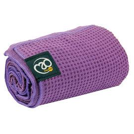 FITNESS MAD Fitness Mad Yoga mat handdoek anti slip 183cm Paars