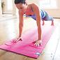 FITNESS MAD Fitness Mad Grip Dot Yoga Mat Towel 183 x 60 cm Pink