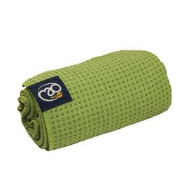 FITNESS MAD Fitness Mad Yoga mat handdoek anti slip 183cm Groen