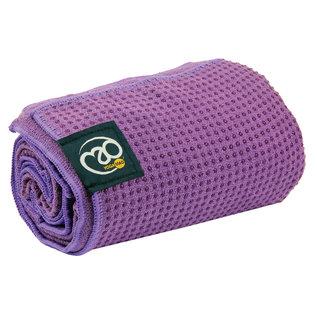 FITNESS MAD Fitness Mad Yoga mat handdoek anti slip 183cm Blauw Grip Dot Yoga Mat Towel 183x60 cm met siliconen grip dots (phthalate vrij) ideaal voor studio of op reis