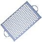 FITNESS MAD Fitness Yoga Mad Acupressuur mat spijkermat Blauw Acupressure Bed of Nails Shiva Mat 67x41 cm 1kg opvouwbaar 100% katoen