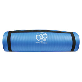 FITNESS MAD Fitness Mad Stretch Fitness Mat 10mm 182x58cm NBR Blue