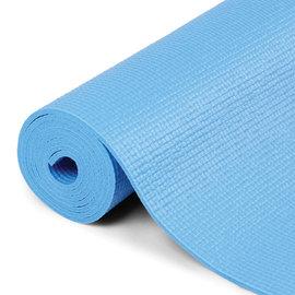 FITNESS MAD Fitness Tapis de Yoga Natte de Gym 6mm 183x61cm Bleu Clair
