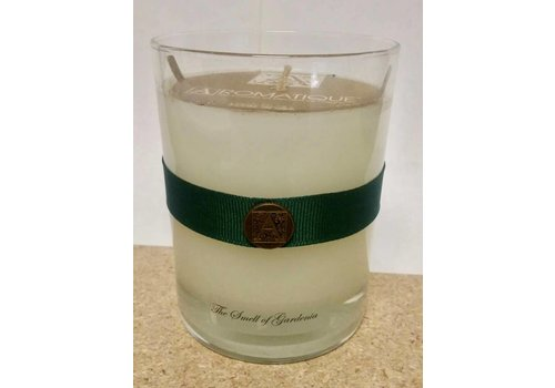 The Smell of Gardenia Candle in Glass