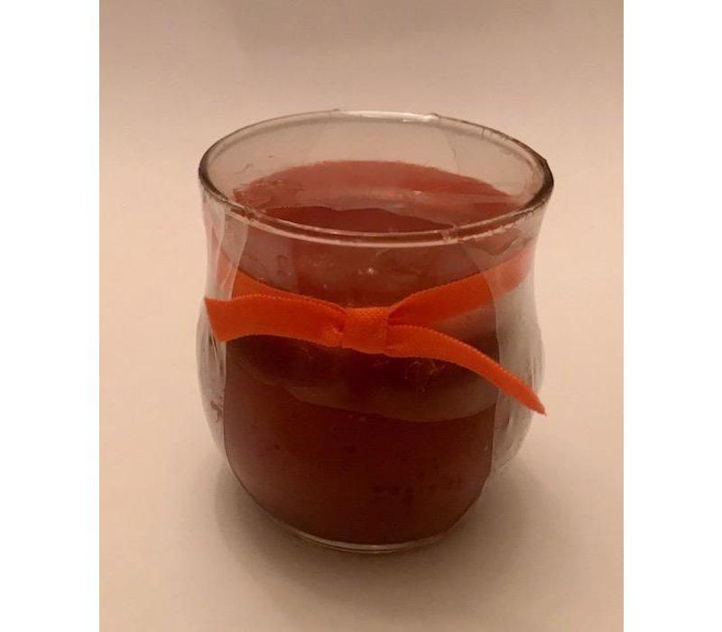 Pumpkin Spice Round Votive Candle