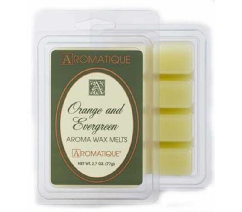 Orange & Evergreen Wax Melts