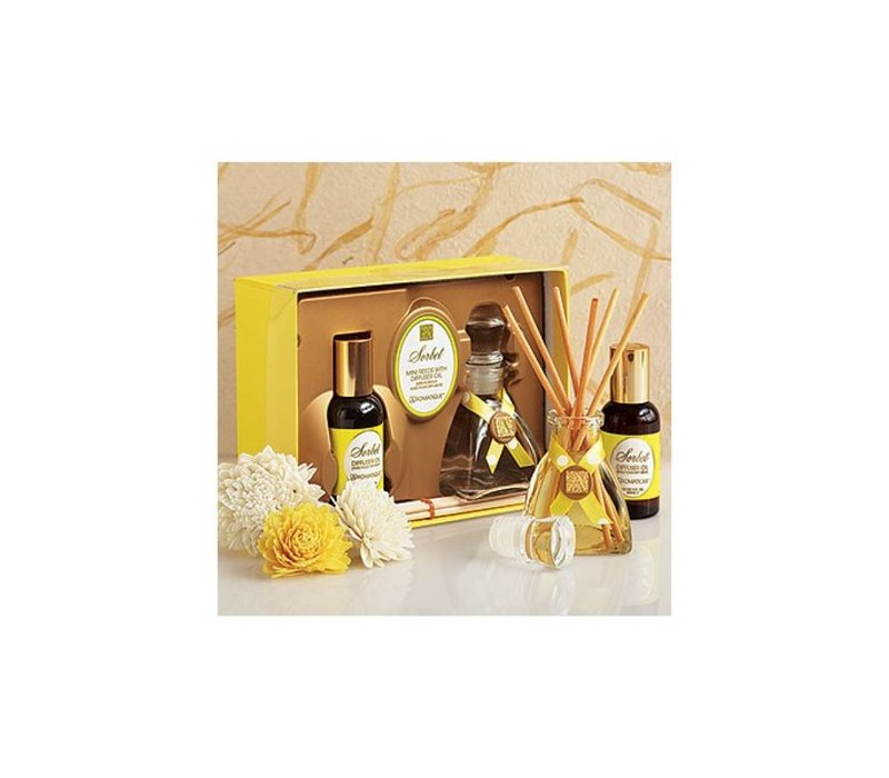 Sorbet Mini Reed Diffuser Set