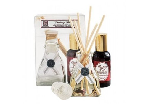 Cranberry Frost Mini Reed Diffuser Set