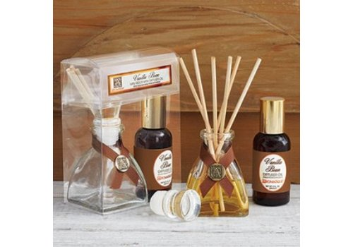 Vanilla Bean Mini Reed Diffuser Set