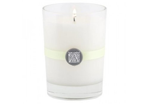 Fresh Hydrangea Candle in Glass