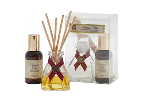 Cinnamon Cider® Mini Reed Diffuser Set