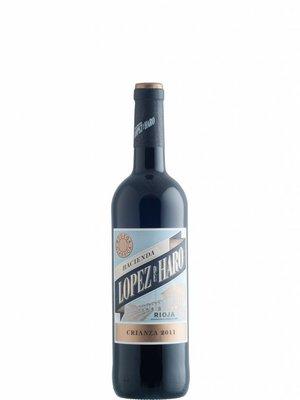 Lopez de Haro Rioja Crianza 2017  ½ fles