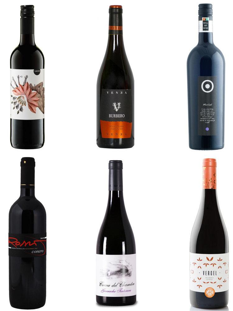 Toegankelijke Wijn doos rood