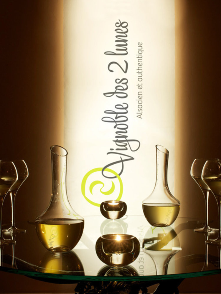 Vignoble des 2 Lunes Pinot Gris 'Lune 2 Miel' 2001, 50cl