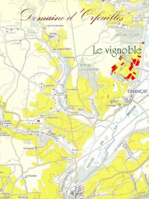 d'Orfeuilles Vouvray Moelleux 2014