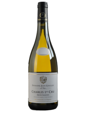 Jean Goulley Chablis 1er Cru Montmains 2015
