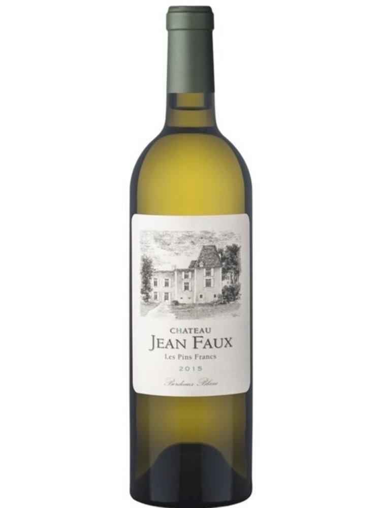 Jean Faux Les Pins Francs Blanc 2017