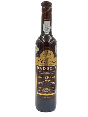 D'Oliveiras Madeira 10 Years Medium Dry - 0,5L