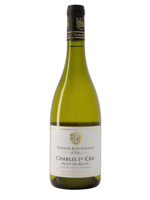 Jean Goulley Chablis Mont de Milieu 1er Cru 2016