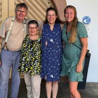 Onze collega Floor op bezoek bij Vignobles des 2 Lunes