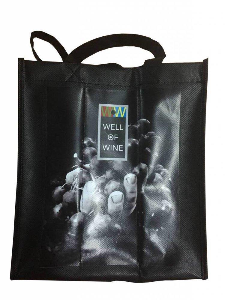 Wijntas - 6 flessen