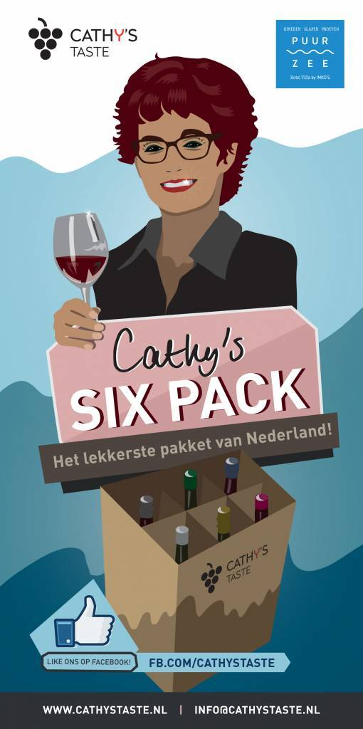 Well of Wine Cathy's Sixpack editie 4 - 2018