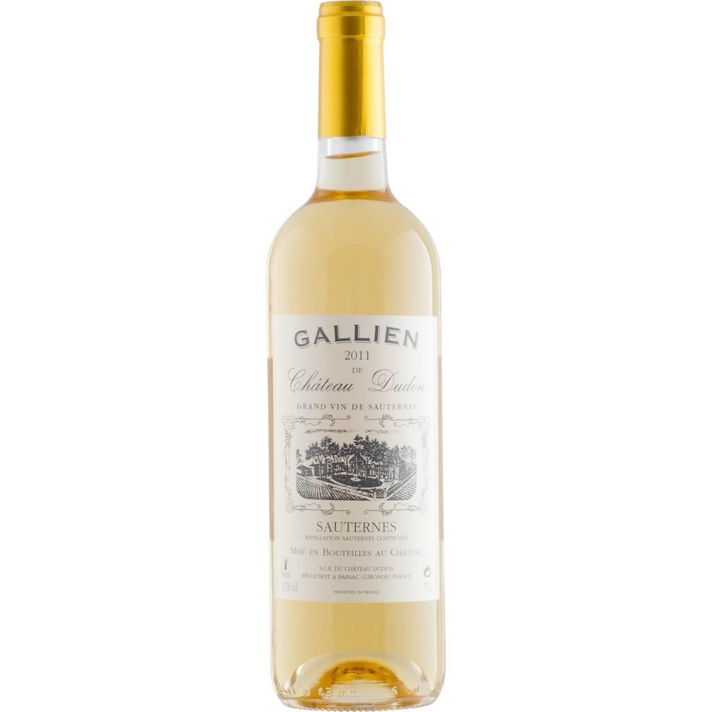 Dudon Sauternes, Gallien de Chateau 2017 0.5L