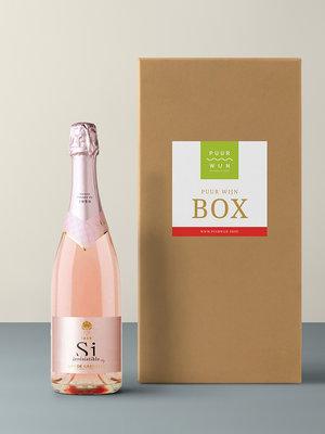Puur Wijn Puur Wijn Box Bubbels - Elke Dag Feest!