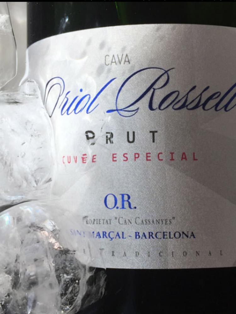 Oriol Rossell Cava Brut Cuvee Especial 2018