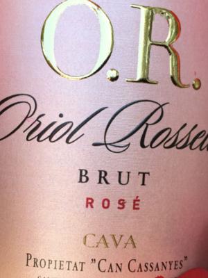 Oriol Rossell Cava Rosé Brut 2018