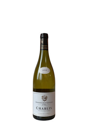 Jean Goulley Chablis 2018 - Small bottle 0,375L