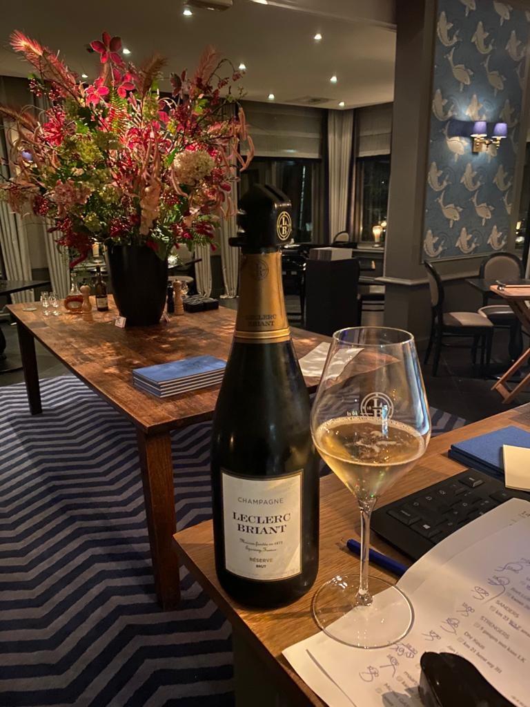 Mijn all time favorite, Champagne van Leclerc Briant
