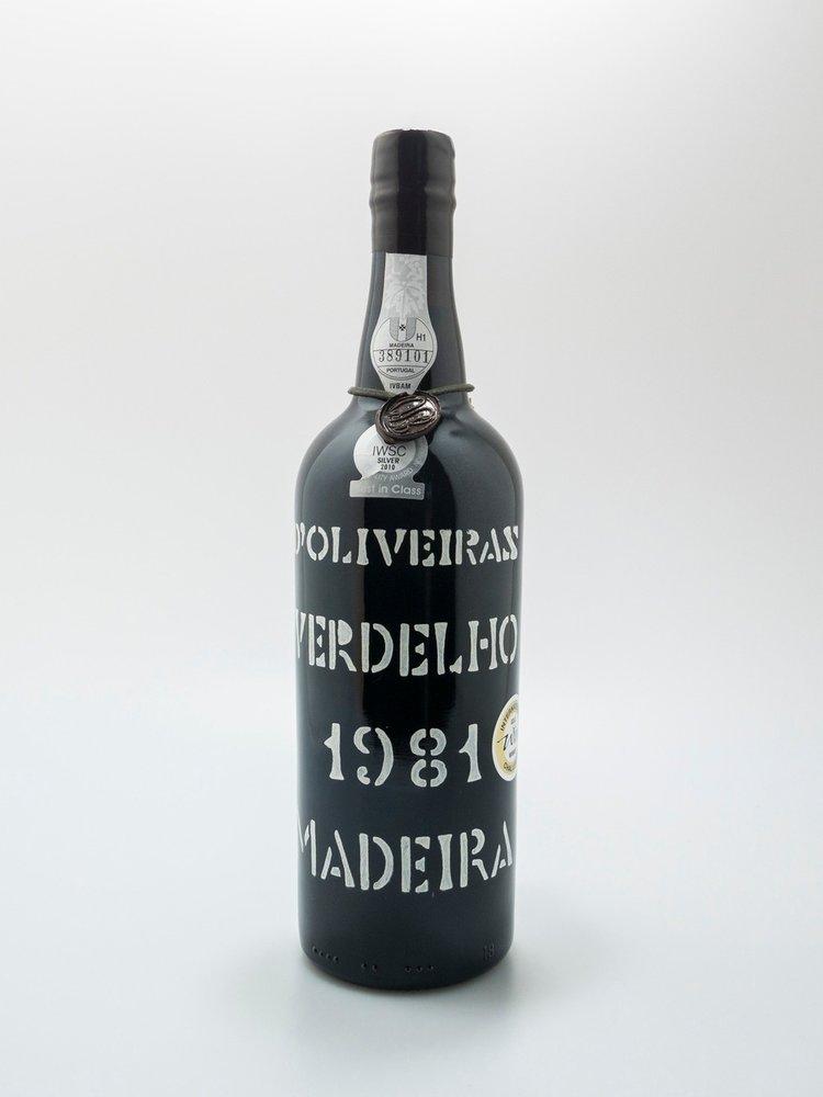D'Oliveiras Madeira Verdelho 1981