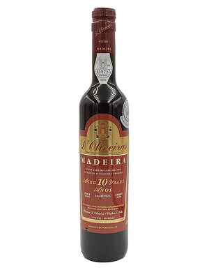 D'Oliveiras Madeira 10 Years Sweet - 0,5L