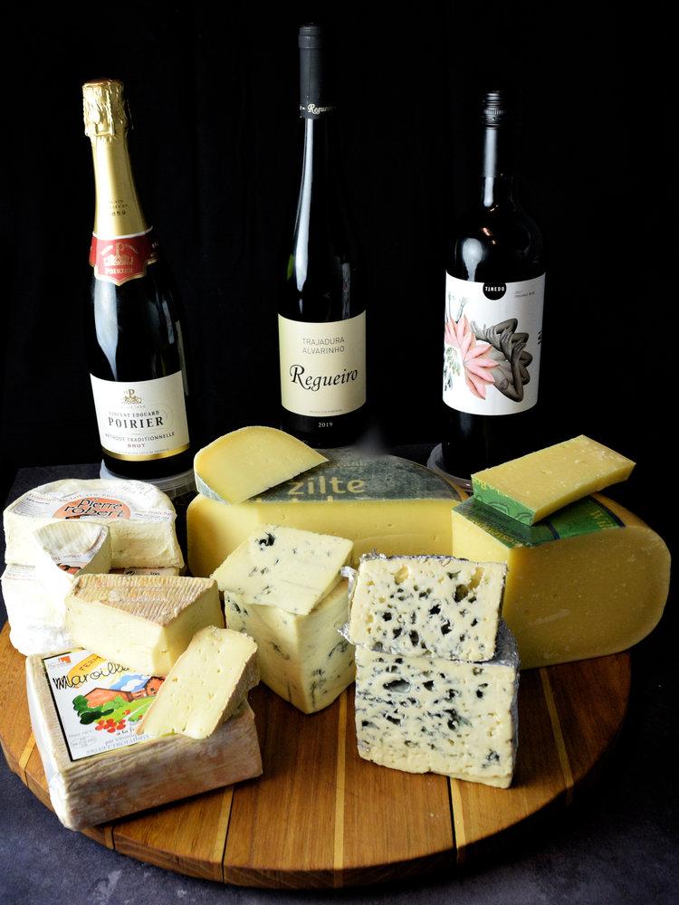 Say Cheese wijn- & kaasproeverij