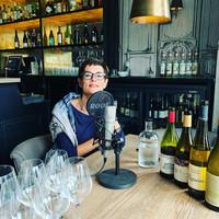 Cathy vertelt haar verhaal in de podcast van Frank proeft wijn