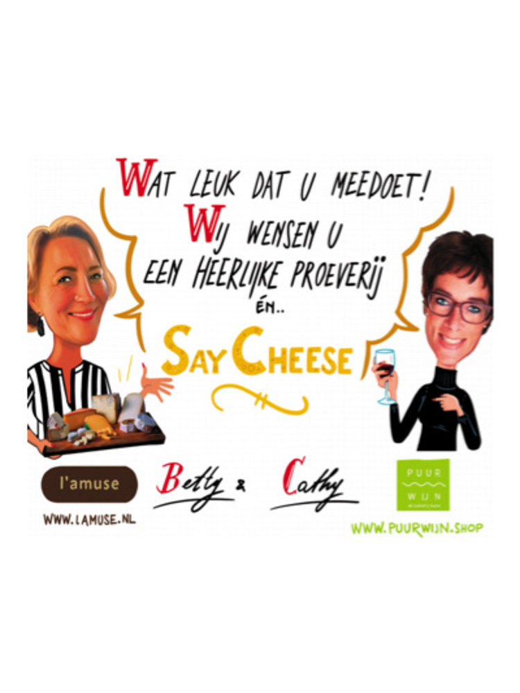 Say cheese proeverij editie 2