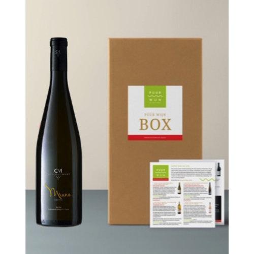 Puur Wijn Sicilië box selectie 3 wijnen - 6 flessen in de box