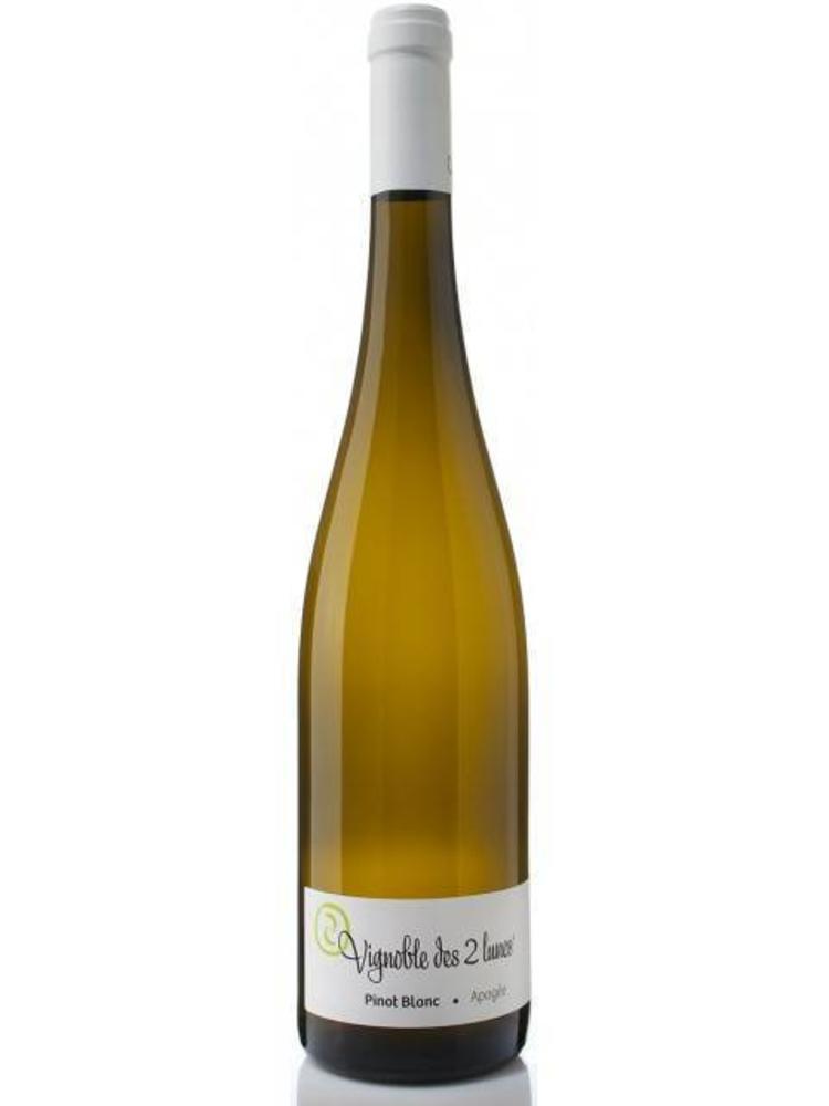 Vignoble des 2 Lunes Pinot Blanc 'Apogee' 2017