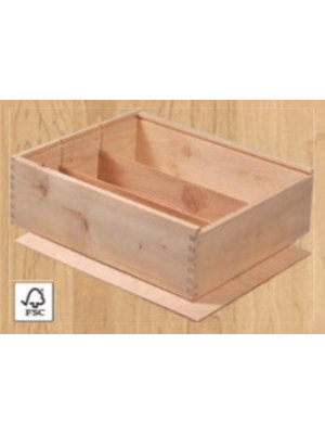 Well of Wine 3 compartment wine box