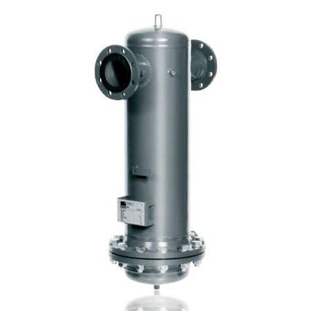 KSI ECOCLEAN Edelstaal Procesfilter FPF600 - 6720 m³/uur - FLENSAANSLUITING