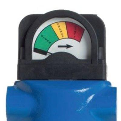 KSI ECOCLEAN Verschildrukmanometer DPN-V voor vacuümluchtfilters