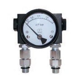 KSI ECOCLEAN Verschildrukmanometer DPN-HP voor persluchtfilters