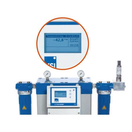KSI ECOTROC Adsorptiedroger ATKN-55 - 600 m³/uur - 1 1/2''