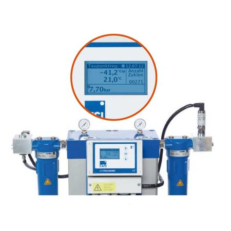 KSI ECOTROC Adsorptiedroger ATON-90 - 1000 m³/uur - 2''